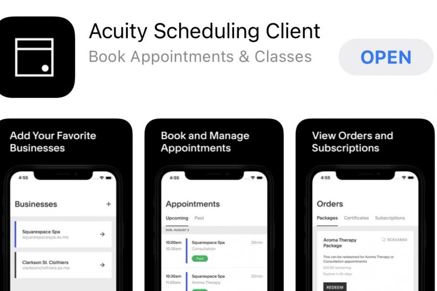 App for your appointment